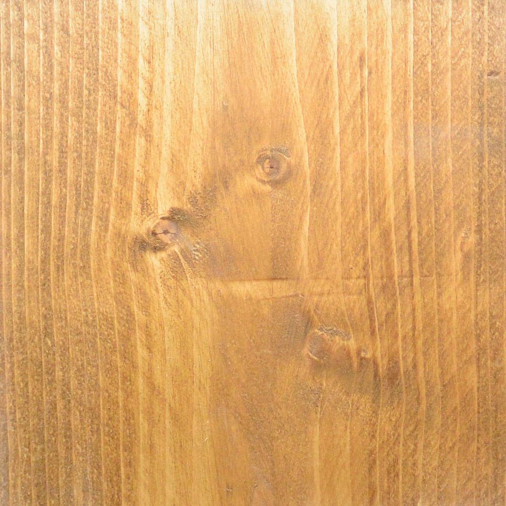Nieuw steigerhout met bruine beits