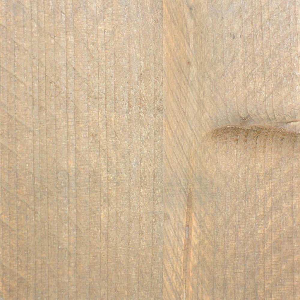Verouderd steigerhout met bruine beits