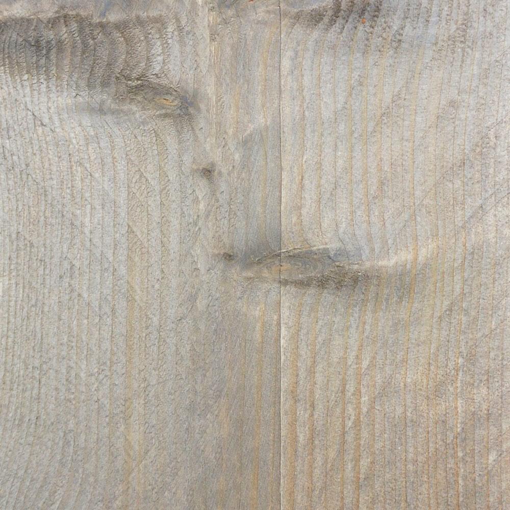 Verouderd steigerhout met transparante beits