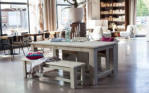 Vintage meubelen steigerhouten meubels budget living for Budget meubels
