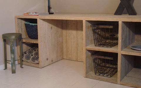 Voor binnen en buiten steigerhouten meubels budget living for Budget meubels