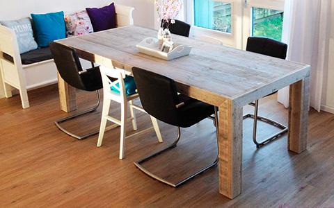 Woonkamer steigerhouten meubels budget living for Budget meubels