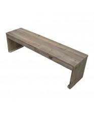 Voor binnen en buiten steigerhouten meubels budget living for Zitbank steigerhout