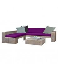 steigerhout loungehoek relax