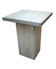 Steigerhout Statafel Hein 1, Nieuw hout en onbehandeld