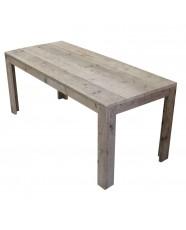 steigerhout tafel stein 1
