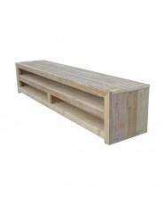 Steigerhouten TV Meubel Remko, gebruikt hout en onbehandeld