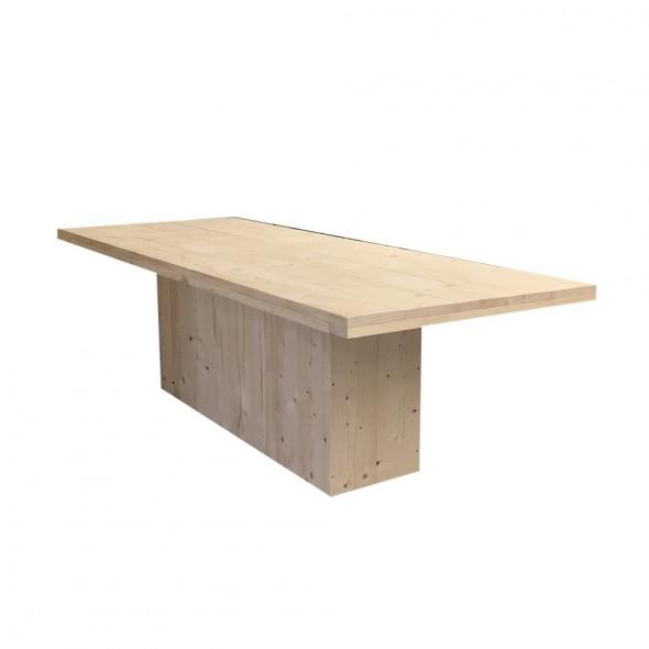 steigerhouten tafel tess, nieuw hout en onbehandeld