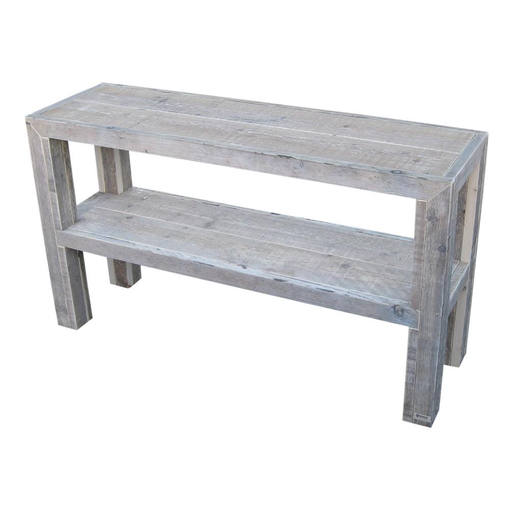 Steiger Houten Side Table.Steigerhouten Sidetable Milan