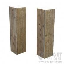 steigerhout sokkel ferna
