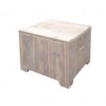 Steigerhouten Salontafel Bente , gebruikt hout en onbehandeld