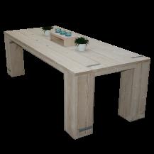Steigerhouten tafel Mammuth