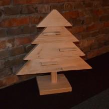 Steigerhouten Kerst Tree, nieuw hout (onbehandeld)