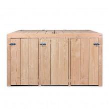 Kliko ombouw Douglas hout - vooraanzicht