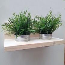 steigerhout plantenhouder
