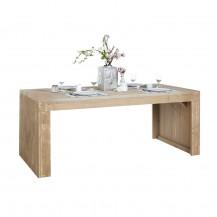 Steigerhouten tafel dicht, greywash hout