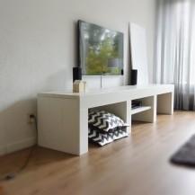 Steigerhouten tv meubels op maat gemaakt budget living for Budget meubels