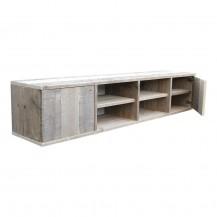 steigerhouten tv meubel Maud 2, gebruikt steigerhout, onbehandeld