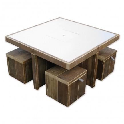 Speeltafel Met Opbergruimte.Stoere Kinder Speeltafel Speciaal Op Maat Gemaakt