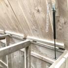 Helling detail gasdrukveer