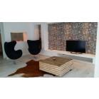 steigerhout salontafel kops, oud hout en transparante beits behandeling