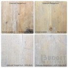 Kleurpatroon, oud (gebruikt) hout