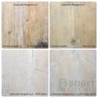 Kleurenstaal oud hout