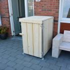 Steigerhouten kliko container ombouw Jasper 10, nieuw hout voor 1 container onbehandeld