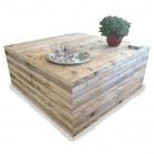 steigerhout salontafel kops, oud hout en onbehandeld