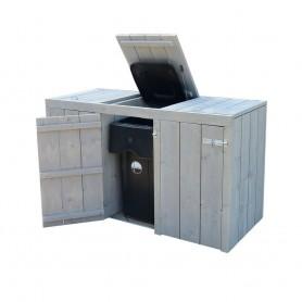 Steigerhouten Container Ombouw De Helling
