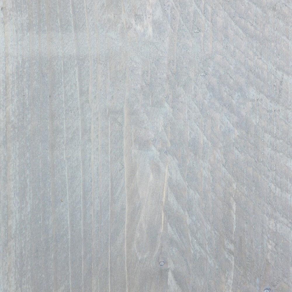Verouderd steigerhout met lichtgrijze beits