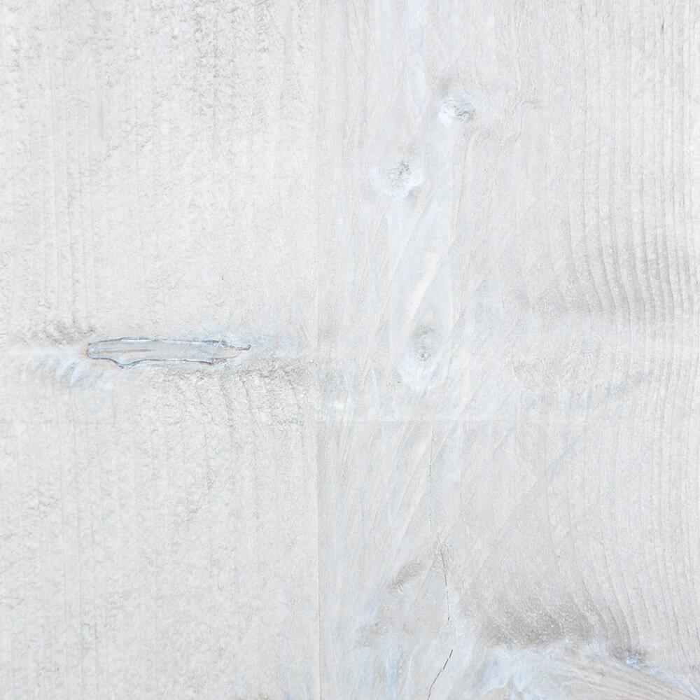 Verouderd steigerhout met witte beits