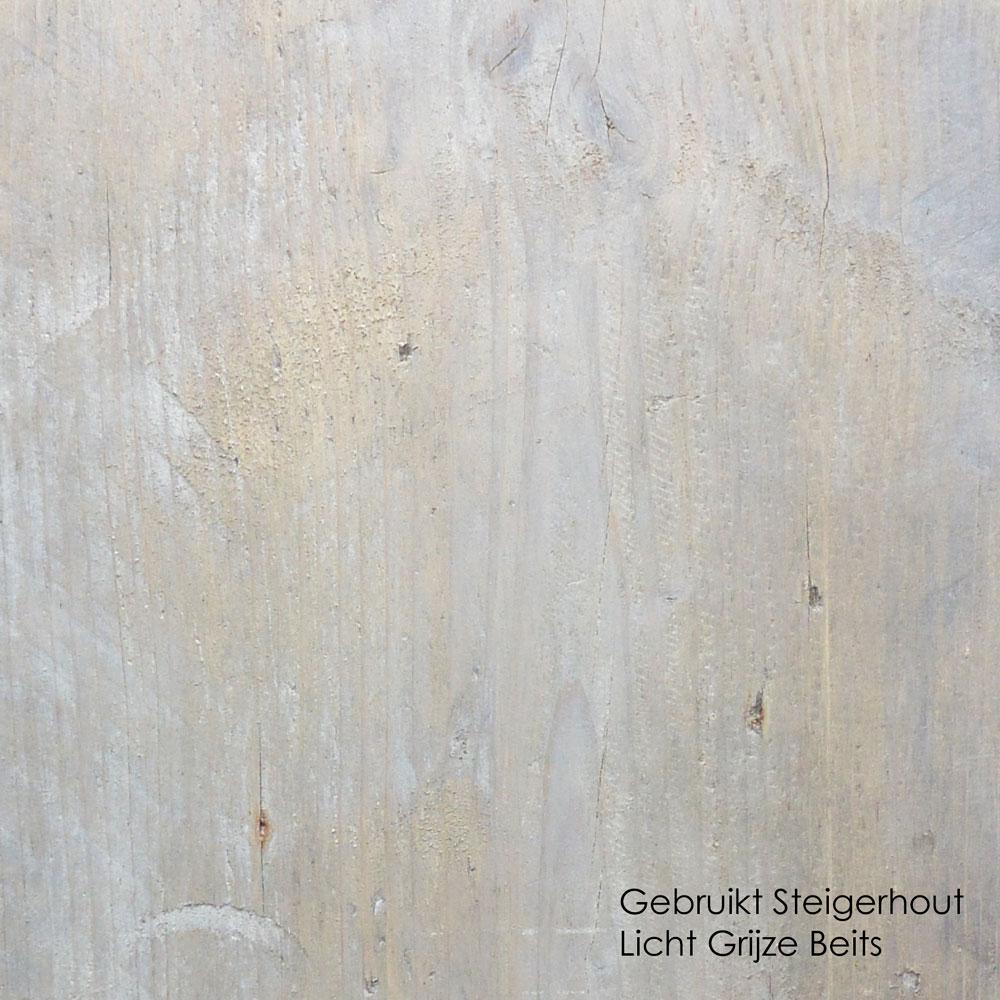 gebruikt steigerhout licht grijze beits