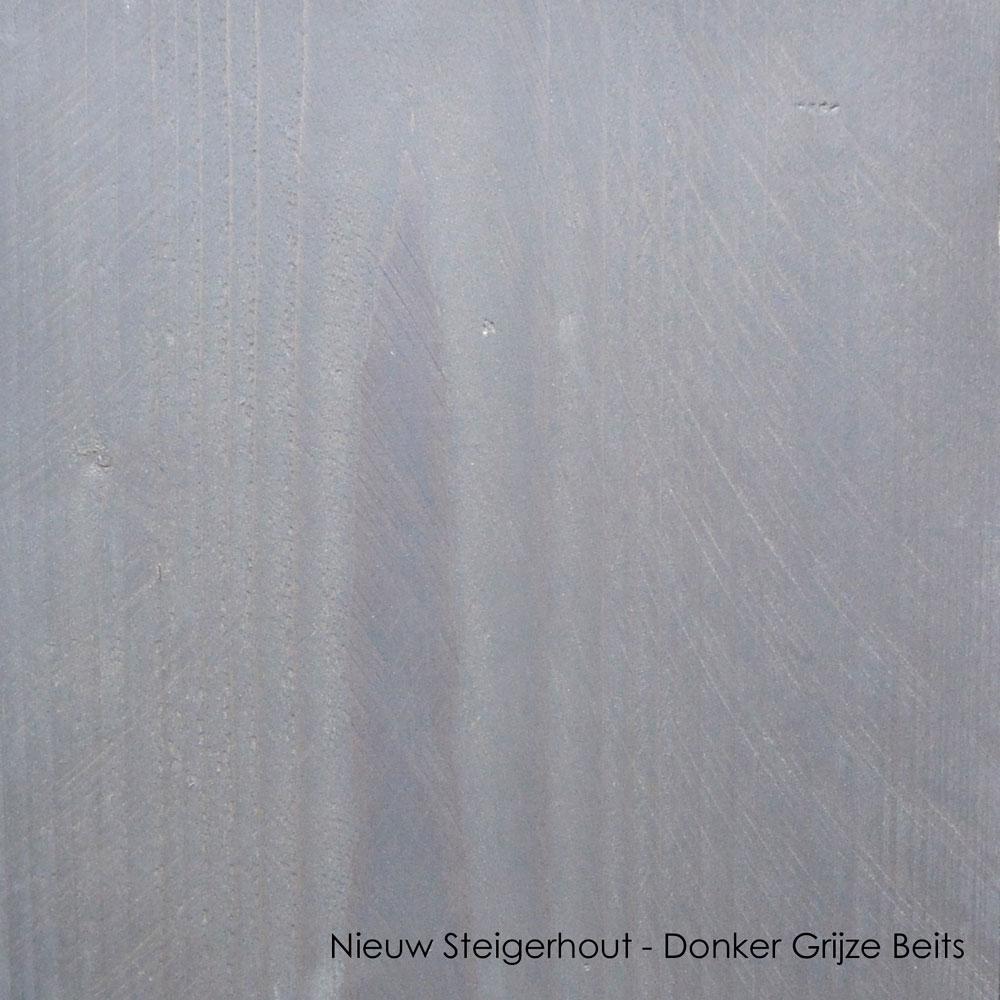 nieuw steigerhout donker grijze beits