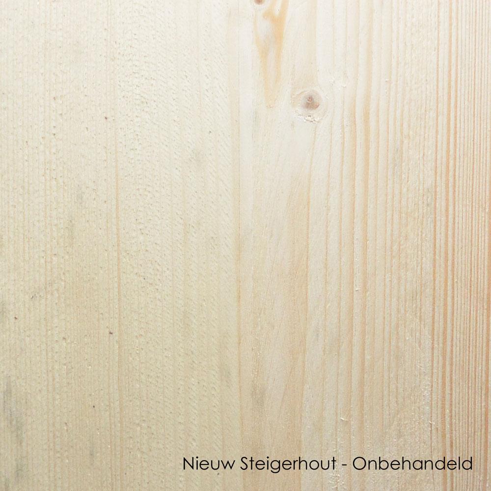 onbehandeld nieuw steigerhout