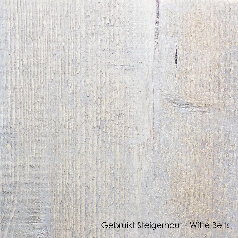 gebruikt steigerhout witte beits